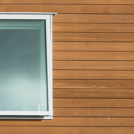 Rusticated Western Red Cedar Weatherboards by JSC Timber
